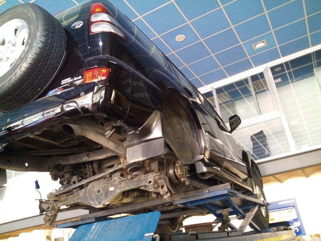 comprovació suspensió vehicles